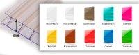 Сотовый поликарбонат 10 мм цветной (1,25 кг/м2)