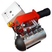 Горелка на отработанном масле AL-120V (600-1200 кВт) для котла, печи, теплогенератора