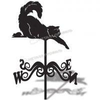 Флюгер большой 002 «Кот»