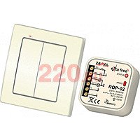 Комплект беспроводного управления освещением (2 канала), Zamel - ZM-RZB-04