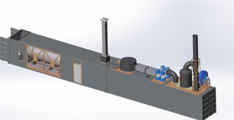 Твердотопливные  пиролизные двухконтурные  котлы (10 кВт - 100кВт).