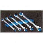 Набор ключей гаечных разрезных в СТ ложементе GEDORE 1500 CT1-400 2309068