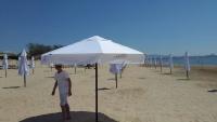 Зонт для кафе, пляжа, торговли круглый 3,0 м.