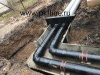 Трубы в ППУ изоляции с защитной оболочкой (ПЭ или ОЦ)