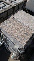 Гранитная плитка парапетная 500*300*60 Южно-Султаевский полированный