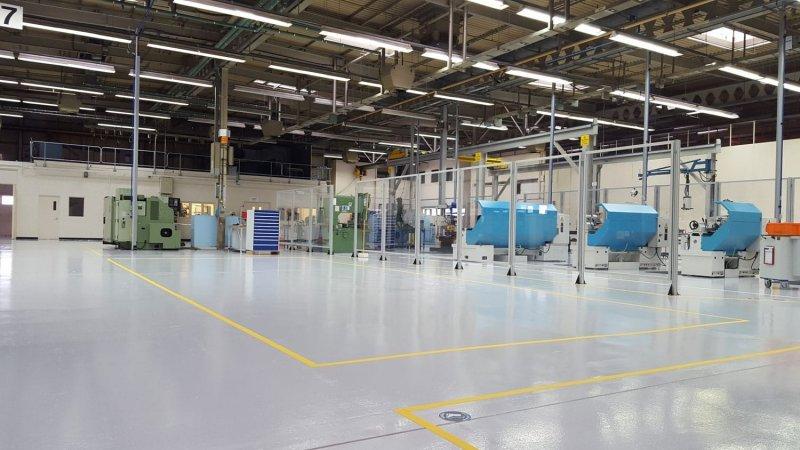 Эпоксидные полы для паркинга, склада, производственного помещения.