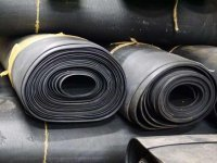 Резина мбс в рулонах (маслобензостойкая 1-10мм)
