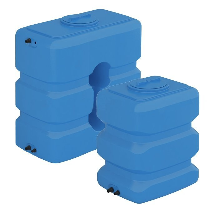 Бак для воды, ATP 800, синий, с поплавком