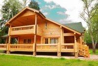 Строительство деревянного дома из клееного бруса
