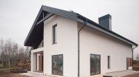 Пример дома площадью 167 кв.м. построенный из термоблоков.
