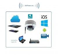 Xinweis. Уличная IP купольная WiFi/LAN видеокамера в антивандальном корпусе, Full HD. 2Mp Артикул: DE-WXWS-X35H20M