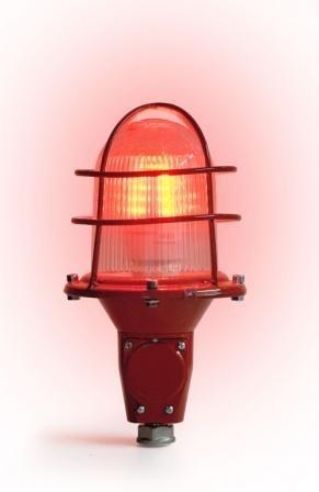 СДЗО-05-2 огонь заградительный прозрачный с лампой Пермь СДЗО-05-02 85-250В с решеткой