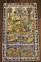панно павлины и рыбы