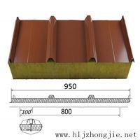 сэндвич-панель с минеральной ватой (стекловатой) типа ЕВРО