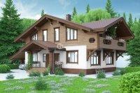 Проект дома «Крузенштерн» 12.3 х 17.2