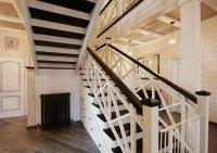 Деревянная лестница изготовление и установка