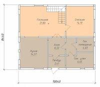 Строительство коттеджей по каркасной технологии! Пример дома 148 кв.м.