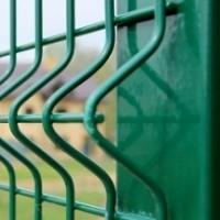 Производство заборных секций 3d Гиттер оцинкованных и в ППК покрытии