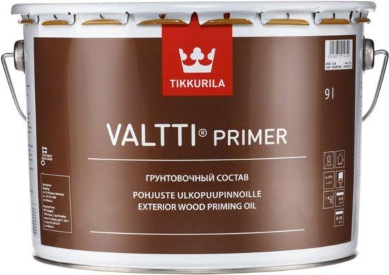 Tikkurila Valtti Primer грунтовочный антисептик для древесины 9л