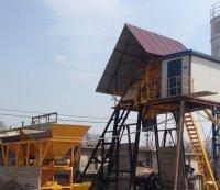 бетонный завод HZS25