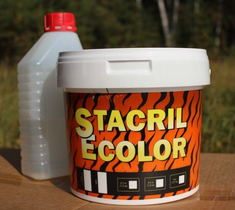 Эмаль для реставрации ванн Стакрил 1,5 (3,4 кг)