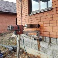Алмазное бурение.Бурение бетона.Отверстие в бетоне. Сверление отверстий. Резка бетона.