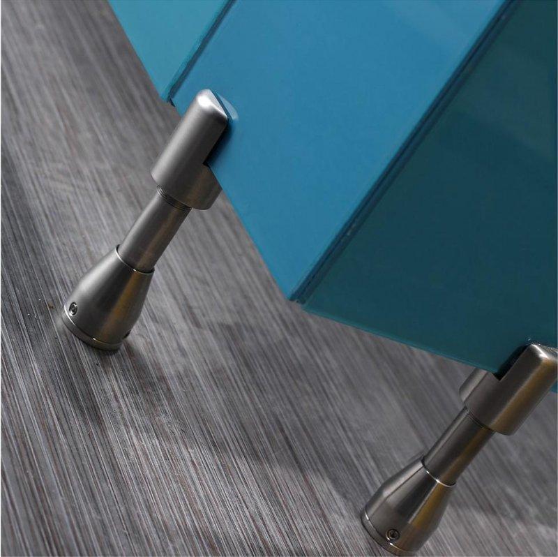 Нержавеющая фурнитура  для стеклянных туалетных перегородок. Ножки регулируемые под стекло, петли для стекла