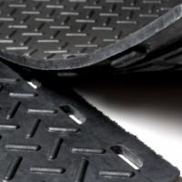Резиновая плитка Резиплит-Зерно покрытие для прочного пола в гараже