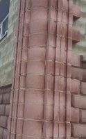 блок керамзитобетонный угловой декоративный