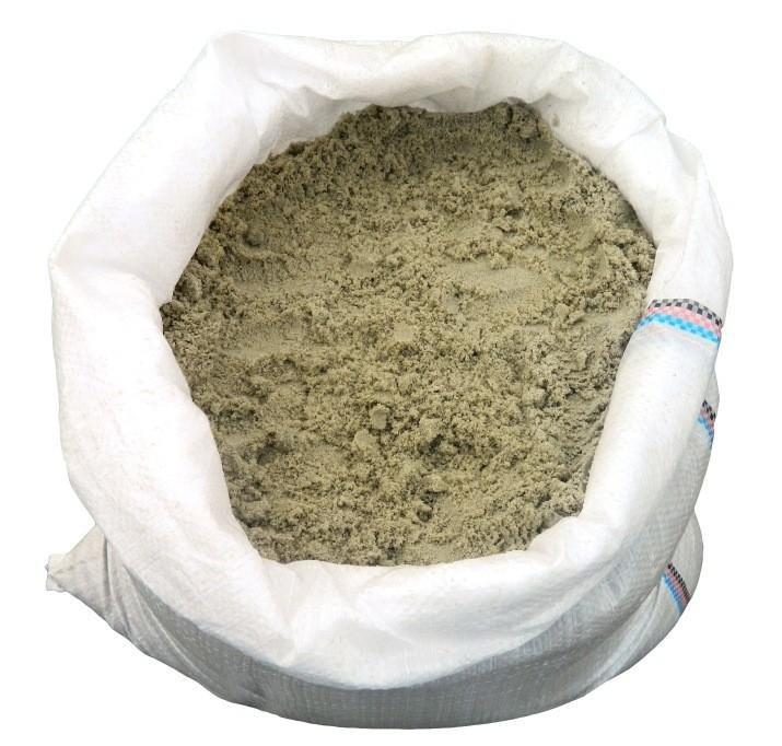 песок речной в мешках[ сеяный 40кг]