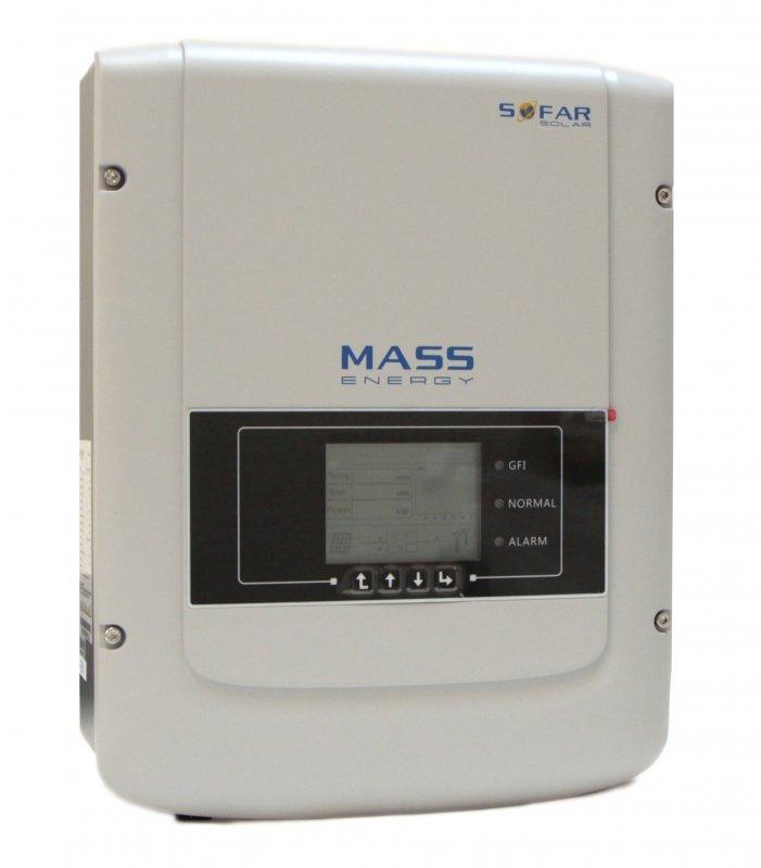 Сетевой герметичный однофазный инвертор Sofar 3000TL