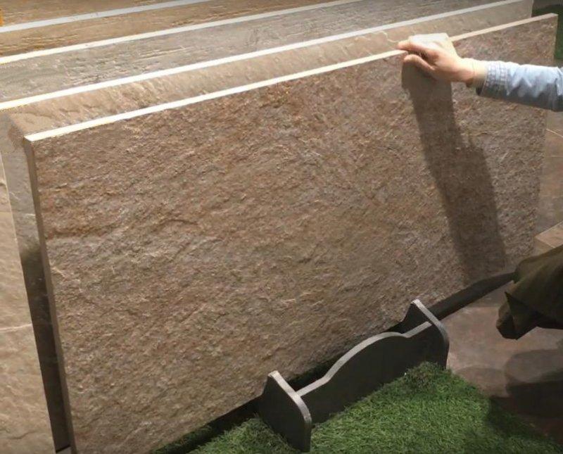 Ступени из толстого 20мм керамогранита для лестниц производство Китай