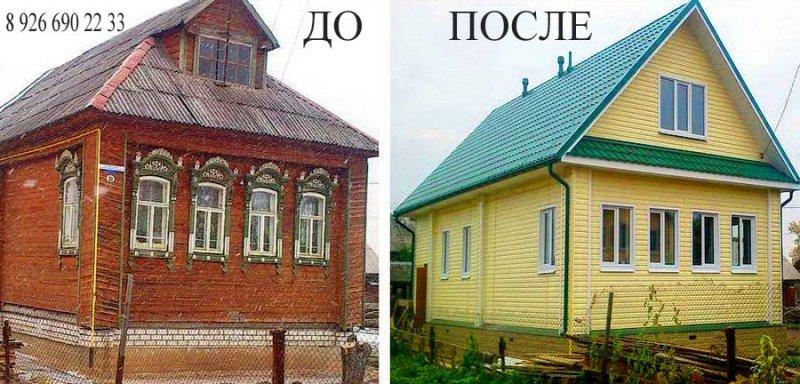 Перестроить дачный дом