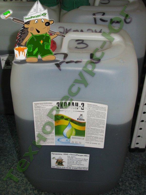 Средство для очистки от мазуты, ГСМ, нефтепродуктов