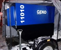 Аренда (прокат) Генератор мобильный Geko 11010 с оператором