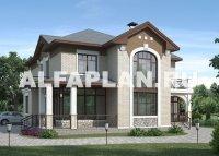 """Проект дома 98A """"Голицын"""", 258м2, 4 спальни, второй свет"""