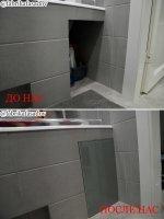 Дверцы для сантехнических проемов санузла и ванной.