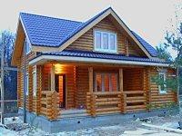 Двухэтажный дом-баня BL35