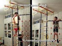 Установка распорных детских спортивных комплексов