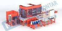 Бетоноформовочная машина нового поколения с послойным формованием - КРМ 1036 Mustafa Yontar