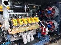 Газопоршневая установка 350 кВт (KG-350), ГПУ-350, КГУ-350, АГП-350, ГПЭС-350, АП-350, АГ-350, ЭГП-350, ГГУ-350, БКГПЭА-350