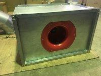 Вентилятор канальный прямоугольный WKP 40-20/20-4D