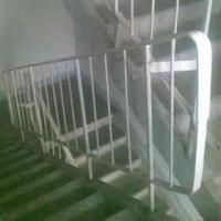 Стальные ограждения (металлические перила) железобетонного лестничного марша (серия 1.050.9-4.93.3)