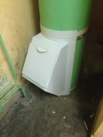 Клапан мусоропровода эконом класса КМ-450 Бюджет