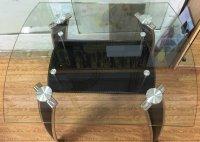 Стеклянные столы под заказ. Ремонт, замена столешниц из стекла.