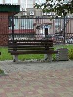 Скамейка со спинкой СП01.