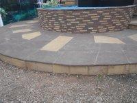 природный камень для облицовки ступеней и площадок