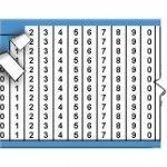 WM-0-9 Кабельные маркеры BRADY
