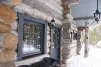 Строительство домов из Карельской сухостойной сосны
