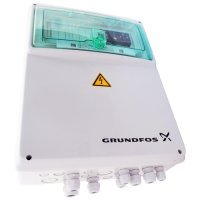 Шкаф управления двумя насосами Grundfos LCD108.400.3.5 исполнение УХЛ 4, 3 x 380B, рабочий ток 1,0-5,0A